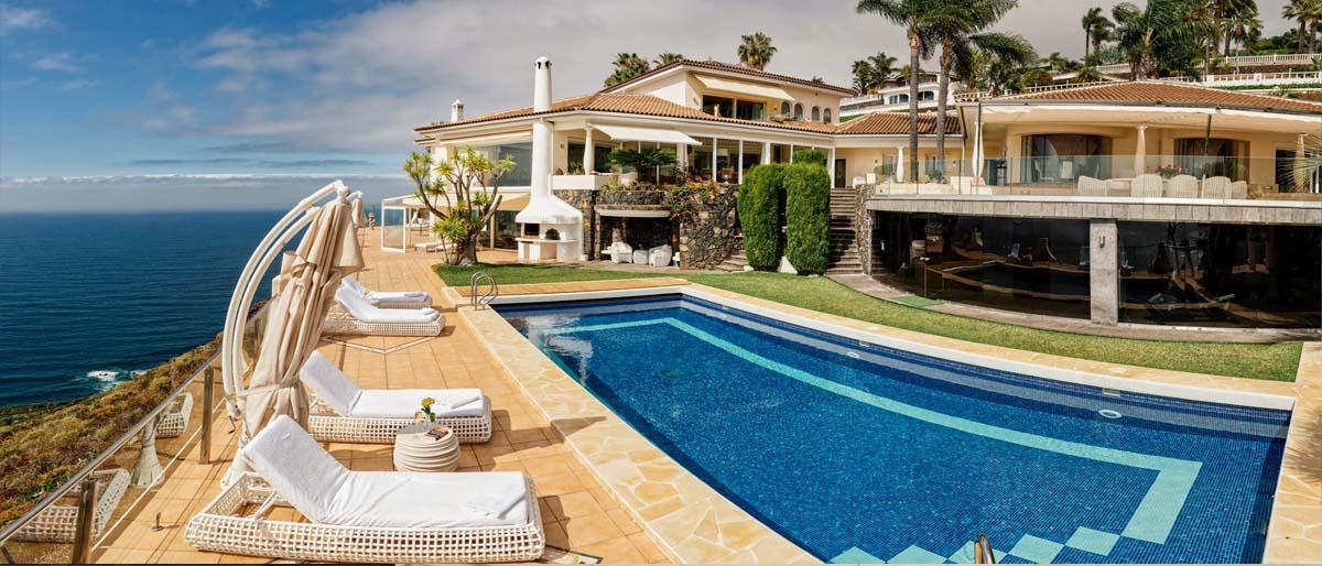 Schönste Villa auf Teneriffa in bester Lage
